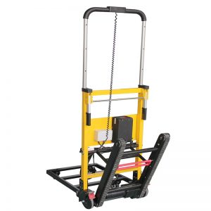 Easy carried motorized stair climbing trolley