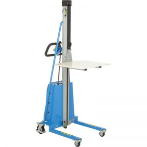 electric work positioner lift stacker