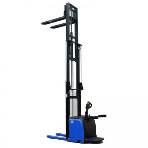 High lift full electric stacker
