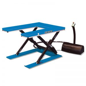 """U""shape low profile stationary lift table"