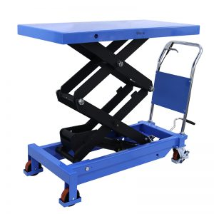 manual hydraulic lift table