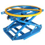 QAL1000 pneumatic rotating lift table
