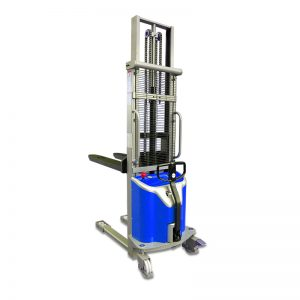 semi-electric lift stacker